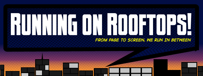 Graphic Design Image for Running On Rooftops